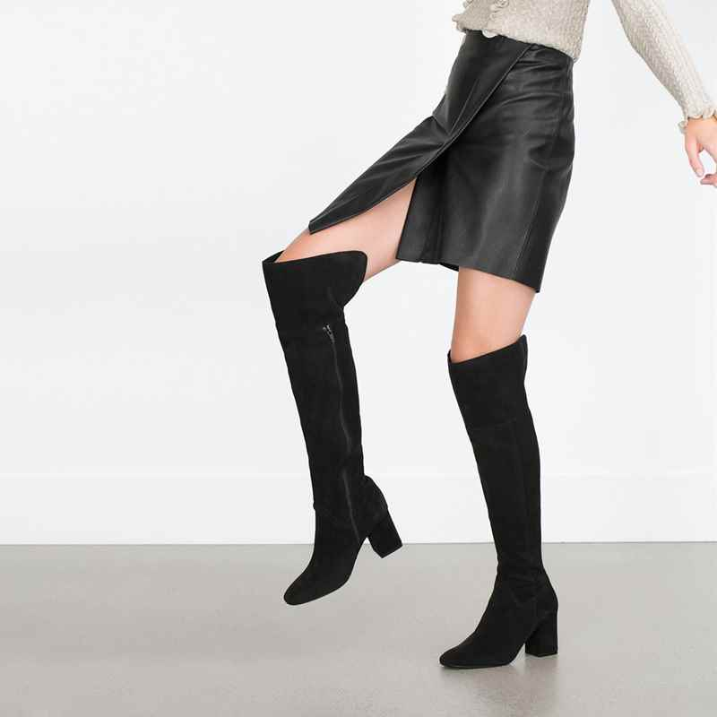 8ccf85e2d78 The High Life  Knee-high and High-heeled boots for the season ...