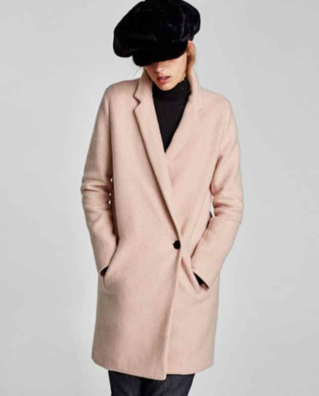 58bf42be It also comes in light pink and although is called something different on their  site, it's the same style: Soft Crossover Coat £69.99.