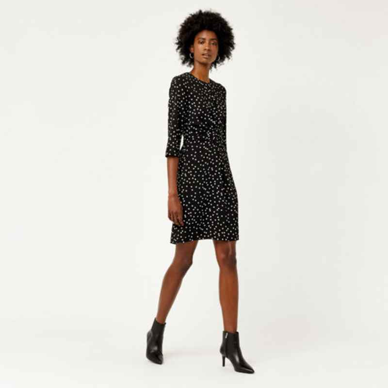 8682b59f2b8a If feminine is what you want, then this Longer Spot Tea Dress £49 from Oasis  would certainly do the job. They also come in shorter lengths which are  good ...